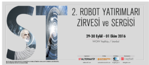 2. ROBOT YATIRIMLARI ZİRVESİ ve SERGİSİ