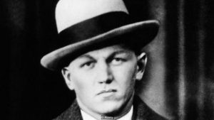 D18J6E George 'Baby Face' Nelson, Public Enemy No. 1. In 1934 he was wanted for the murder of three Federal Agents. (CSU_ALPHA_1256)