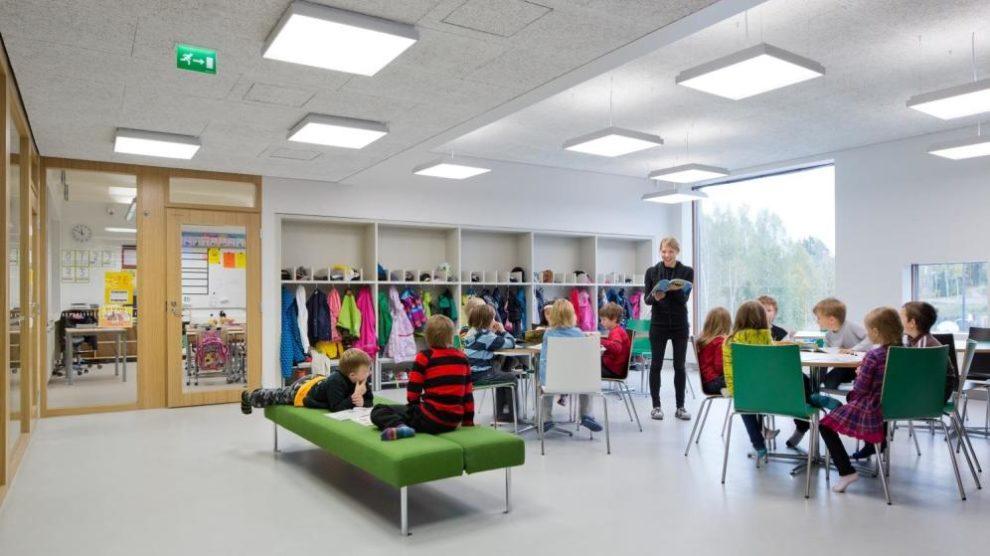 Finlandiyada bir okul