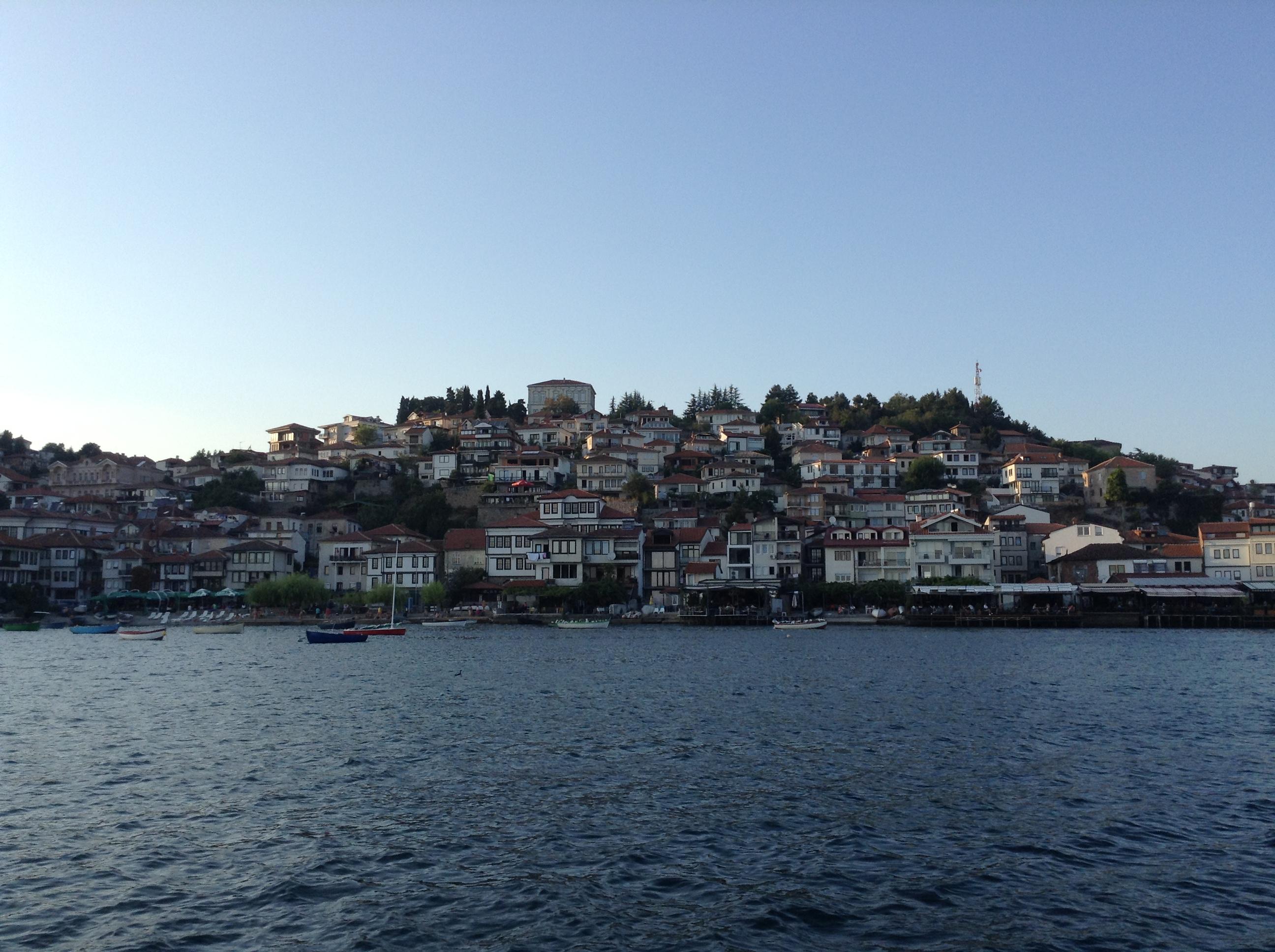 Ohri Gölünden Eski Ohri'ye (Türk Ohri'ye) bakış