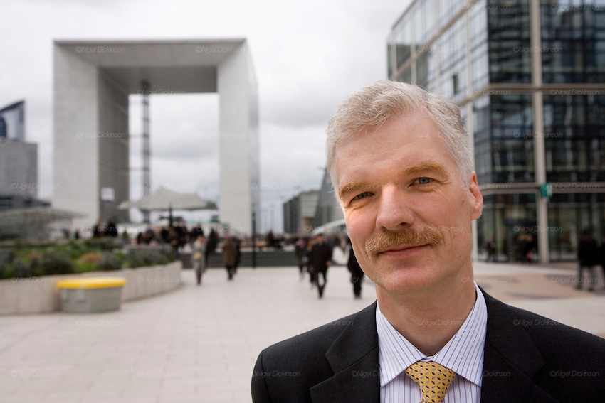 Andreas Schleicher, Head of Division, Directorate of education, OECD, Defense, Paris