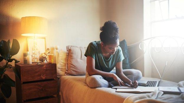 7. Yatakta sınava hazırlık